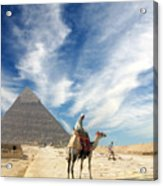 Eye On Egypt Acrylic Print