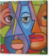 Eye To Eye Acrylic Print