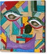 Eye To Eye To Eye Acrylic Print