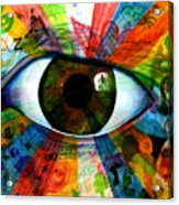 Eye To The Soul Acrylic Print