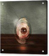Eyeball In A Egg Acrylic Print