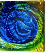 Eyeing A Storm Acrylic Print