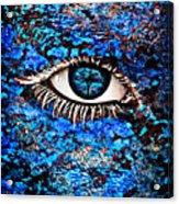 Eyelash  Acrylic Print by Yosi Cupano