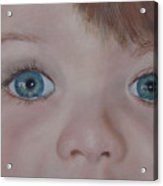 Eyes Of A Child Acrylic Print