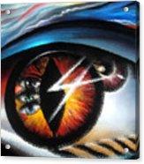 Eyes Of Immortal Soul Acrylic Print