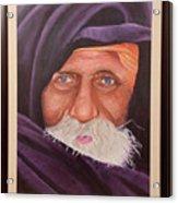 Eyes Of Rajasthan Acrylic Print