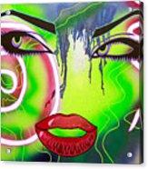 Eyes That Could Kill Acrylic Print
