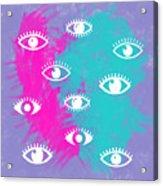 Eyes, The Look Acrylic Print