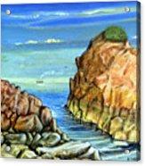 Eynmouth South East Scotland Acrylic Print
