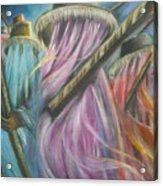Eyo Masquerade Colorful Acrylic Print
