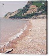 Eype Beach Acrylic Print