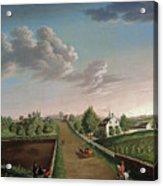 Ezekiel Hersey Derby Farm Acrylic Print