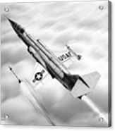 F-104a Starfighter Acrylic Print