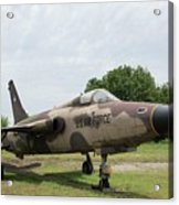 F-105 Thunderchief - 1 Acrylic Print