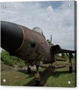 F - 105 Thunderchief Acrylic Print