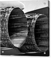 F 15 Thrusters B Acrylic Print