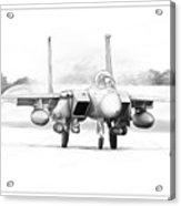 F-15e Strike Eagle Acrylic Print