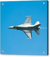 F-16 Full Speed Acrylic Print