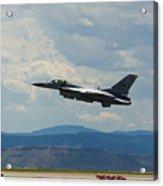 F-16 Tower Acrylic Print