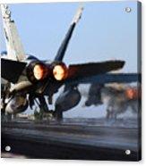F 18 Hornet-aircraftcarriers Acrylic Print