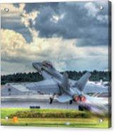 F-18 Hornet Takeoff Acrylic Print