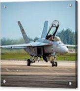 F-18 Super Hornet Acrylic Print