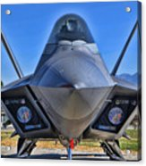 F-22 Raptor 1 Acrylic Print