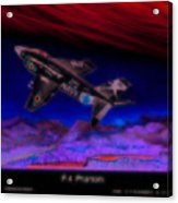 F-4 Phantom Acrylic Print
