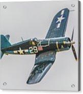 F-4u Corsair Acrylic Print