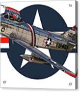 F-86 Sabre Acrylic Print