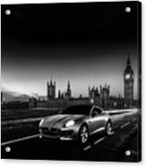 F-type In London Acrylic Print