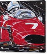 F1 Surtees Ferrari 1964 Acrylic Print