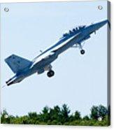 F18 - Take Off Acrylic Print