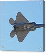 F22 Raptor Munitions Bays Open Acrylic Print