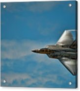 F22 Raptor Steals The Show Acrylic Print