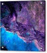 Purple Nebula Acrylic Print