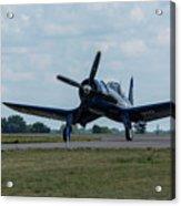 F4u-4 Corsair Airplane 30 Acrylic Print