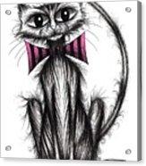 Fab Cat Acrylic Print