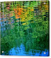 Fabian Pond Reflections3 Acrylic Print