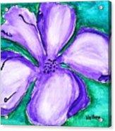 Fabulous Flower Acrylic Print