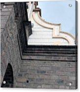Facade Of La Matriz Church Acrylic Print