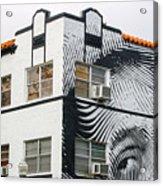 Face House, Calle Ocho Acrylic Print