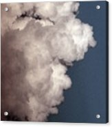 Face In The Clouds Acrylic Print