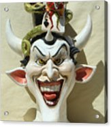 Face Jug Jokula Acrylic Print