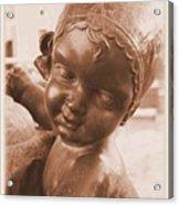 Face Of An Angel Acrylic Print