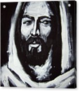 Face Of Christ Ccsa Acrylic Print by Larry Cole