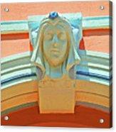 Face Of Espanola Way Acrylic Print