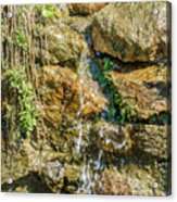 Face Of The Mountain Stream Acrylic Print
