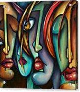 'face Us' Acrylic Print