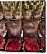 Face Your Audience Acrylic Print by Evelina Kremsdorf